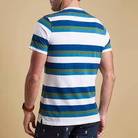 Foundry Wide Stripe T-Shirt Green