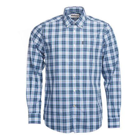 Leo Tartan Shirt Green