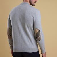 Blair Zip Through Sweater Grey