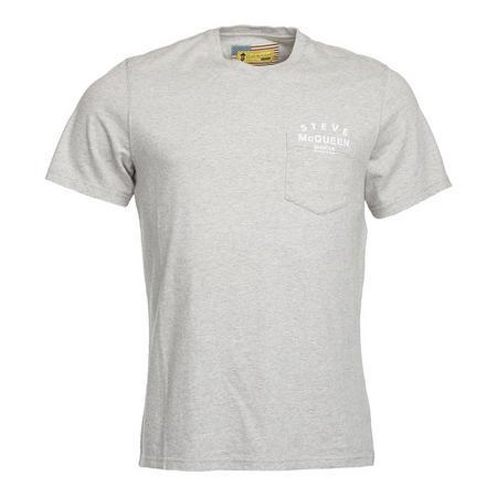 Naval Pocket T-Shirt Grey