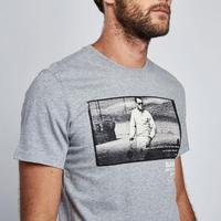 Steve McQueen Racing T-Shirt Grey