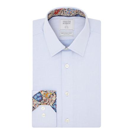 Basketweave Shirt Blue