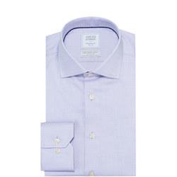 Circle Weave Shirt Purple