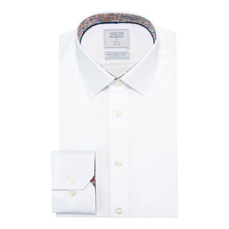 Plain Twill Shirt White