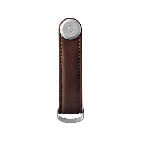 Classic Leather Key Ring Brown