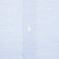 Tailored Fit Micro-Pattern Shirt Blue