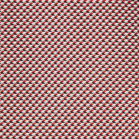 Textured Patterned Tie Red