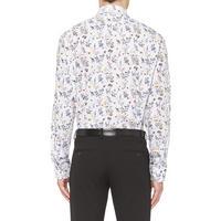 Rimini Floral Print Shirt White