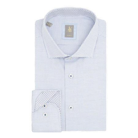 Siena Weave Formal Shirt Blue