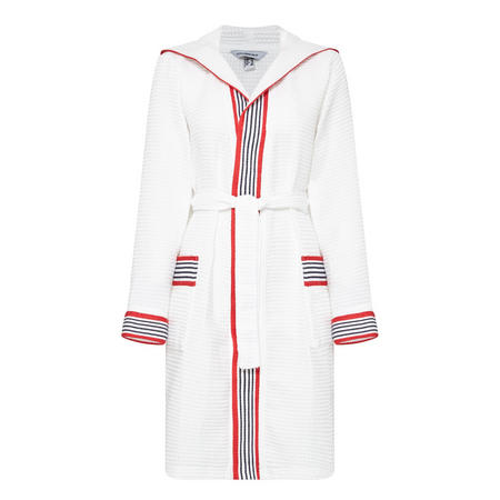 Cannes Hooded Robe White