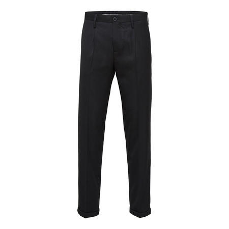 Tapered Trousers Black