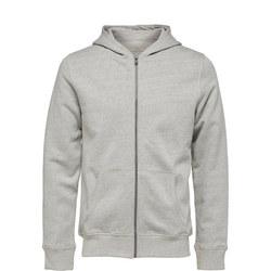 Simon Zip Front Hoody Grey