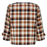 Short Check Jacket Multicolour