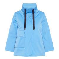Flared Jacket Blue
