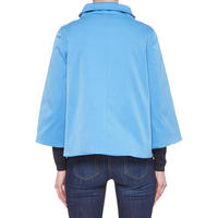 Flared Jacket Blue