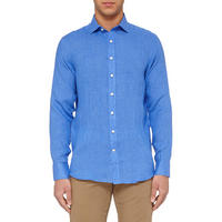 Button Down Casual Shirt Blue