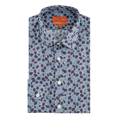 Liberty Meadow Bramble Formal Shirt Blue