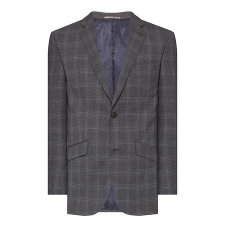 Prince of Wales Check Blazer Grey