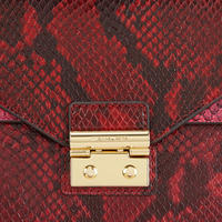 Sloan Satchel Medium Red