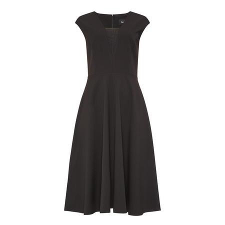 Cap Sleeve Dress Black