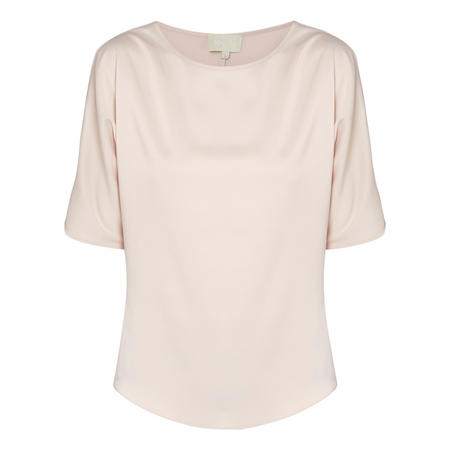 Knot Sleeve Blouse Pink