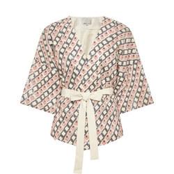 Zahara Kimono Jacket Multicolour