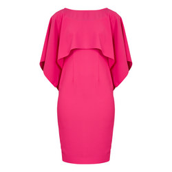 Blossom Cape Dress Pink