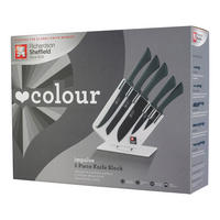 Richardson Sheffield Love Colour Impulse 5 Piece Knife Block