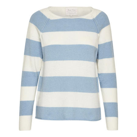 Kasmira Striped Sweater Blue