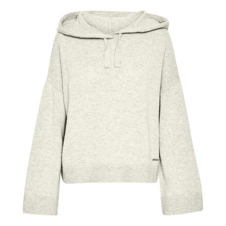 Kaylin Hooded Sweatshirt Cream