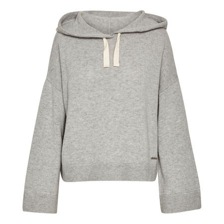 Kaylin Melange Hooded Sweatshirt Grey
