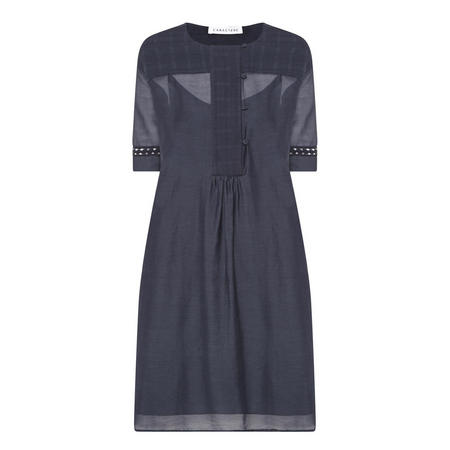Short Sleeve Dress Navy