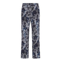 Wide Fit Trousers Navy