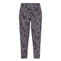 Print Trousers Navy