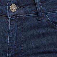 Zip Ankle Skinny Jeans Navy