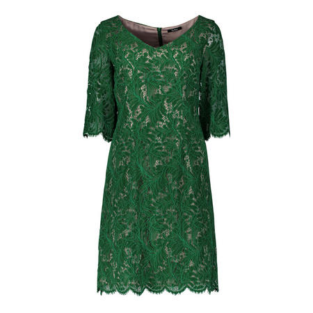 Garden Party Lace Dress Green