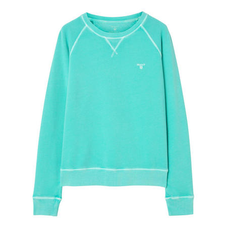 Sunbleached Sweat Top Blue