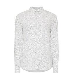 Voile Freckle Dot Shirt Multicolour