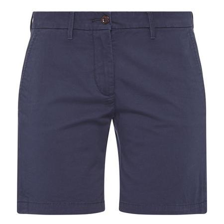 Twill Chino Shorts Navy