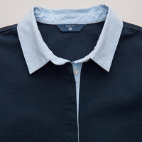 Oxford Rugby Shirt Navy