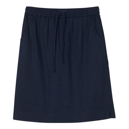 A-Line Casual Skirt Navy