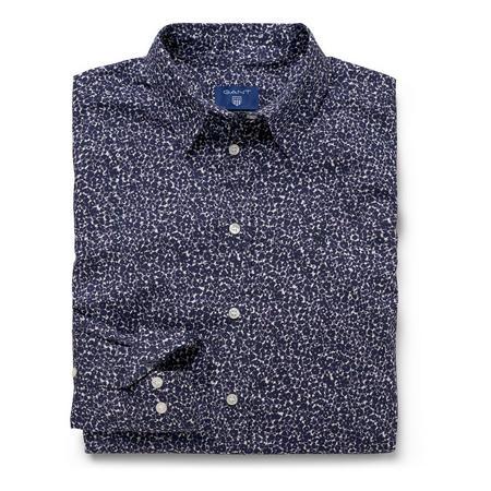 Ditzy Flower Shirt Navy