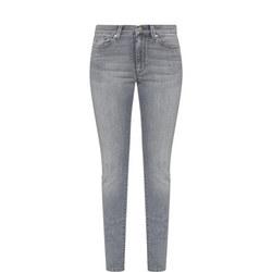 Skinny Super Stretch Jeans Grey