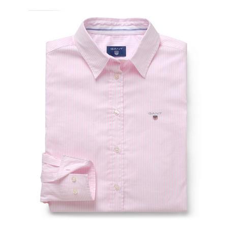 Oxford Banker Stripe Shirt Pink