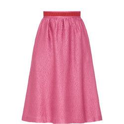 Kim Textured Skirt Pink