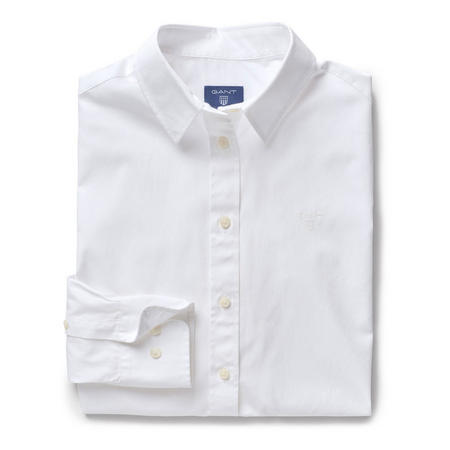 Classic Broadcloth Shirt White