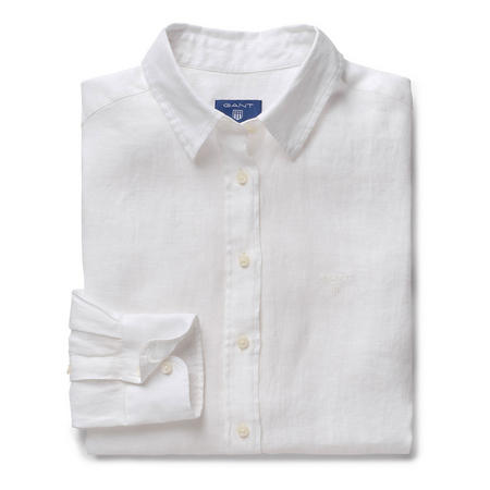 Linen Chambray Shirt White