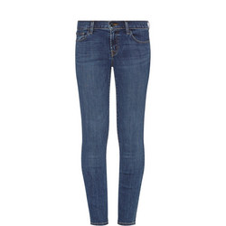 811 Mid Rise Skinny Jeans Blue