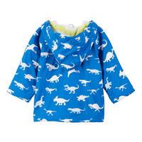 Babies Dinosaur Coat Blue