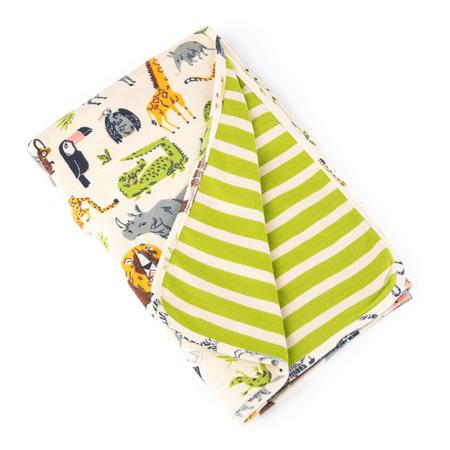 Jungle Animal Blanket Cream